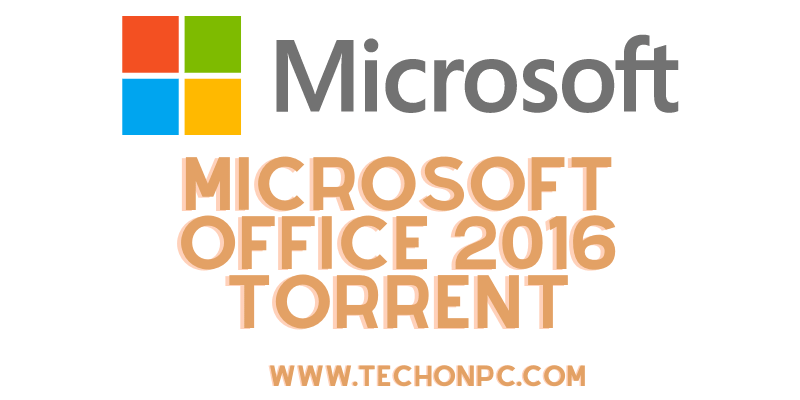 MS Office 2016 Torrent