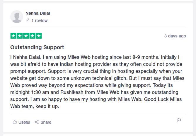 Description: MilesWeb Review.png